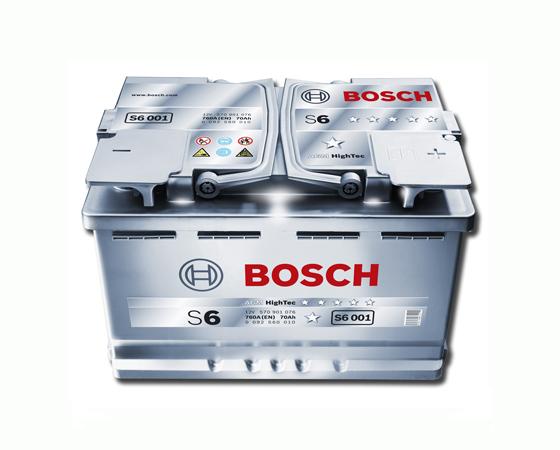 Mpataria Autokinitou Bosch S6013 AGM 12V 95Amp 850cca Ekkinisis