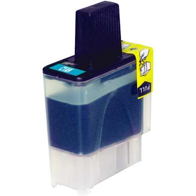 ΣΥΜΒΑΤΟ ΜΕΛΑΝΙ INK Compatible Remanufactured Brother LC-41C Cyan LC 41 LC 900 Κυανό Inkjet Cartridge BO LC 41 12ml