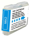 ΣΥΜΒΑΤΟ ΜΕΛΑΝΙ INK Compatible Remanufactured Brother LC-51C Cyan LC 51 LC 1000 LC 57 LC 10 Κυανό Inkjet Cartridge BLC 51 12ml