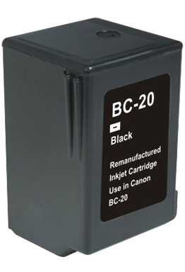ΣΥΜΒΑΤΟ ΜΕΛΑΝΙ INK Compatible Remanufactured CANON BC-20 BLACK BC 20 Μαύρο Inkjet Cartridge