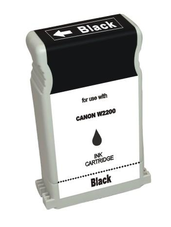 ΣΥΜΒΑΤΟ ΜΕΛΑΝΙ INK Compatible Remanufactured Canon BCI-1302BK Black BCI 1302 Μαύρο Ink Cartridge 130ml