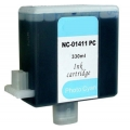 ΣΥΜΒΑΤΟ ΜΕΛΑΝΙ INK Compatible Remanufactured Canon BCI-1411PC Photo Cyan BCI 1411 Φωτογραφικό Γαλάζιο Ink Cartridge 330ml