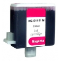 ΣΥΜΒΑΤΟ ΜΕΛΑΝΙ INK Compatible Remanufactured Canon BCI-1411M Magenta BCI 1411 Κόκκινο Ink Cartridge 330ml