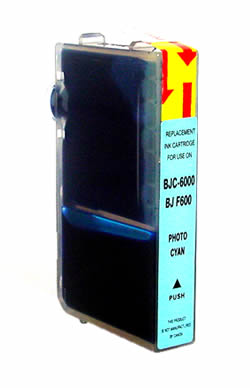 ΣΥΜΒΑΤΟ ΜΕΛΑΝΙ INK Compatible Remanufactured Canon BCI-3epC Photo Cyan BCI 3e Φωτογραφικό Γαλάζιο Inkjet Cartridge 15ml