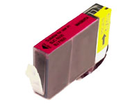 ΣΥΜΒΑΤΟ ΜΕΛΑΝΙ INK Compatible Remanufactured Canon BCI-3eM Magenta BCI 3e Κόκκινο Inkjet Cartridge 15ml