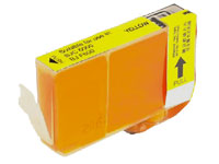 ΣΥΜΒΑΤΟ ΜΕΛΑΝΙ INK Compatible Remanufactured Canon BCI-3eY Yellow BCI 3e Κίτρινο Inkjet Cartridge 15ml