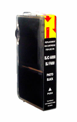 ΣΥΜΒΑΤΟ ΜΕΛΑΝΙ INK Compatible Remanufactured Canon BCI-3ePBk Photo Black BCI 3e Φωτογραφικό Μαύρο Inkjet Cartridge 15ml
