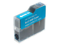 ΣΥΜΒΑΤΟ ΜΕΛΑΝΙ INK Compatible Remanufactured Canon BJI-201C Cyan BJI 201 Γαλάζιο Inkjet Cartridge HIGH CAPACITY 12ml