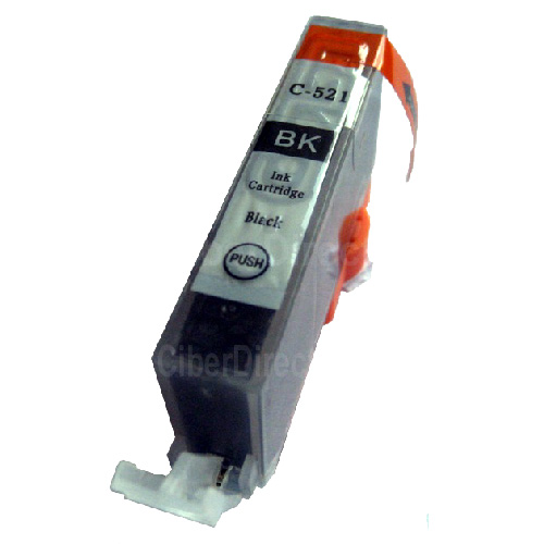 ΣΥΜΒΑΤΟ ΜΕΛΑΝΙ INK Compatible Remanufactured Canon PGI-520 BK BLACK PGI 520 Μαύρο inkjet cartridge