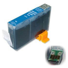 ΣΥΜΒΑΤΟ ΜΕΛΑΝΙ INK Compatible Remanufactured Canon CLI-521 C Cyan CLI 521 Γαλάζιο inkjet cartridge