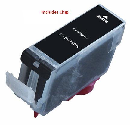 ΣΥΜΒΑΤΟ ΜΕΛΑΝΙ INK Compatible Remanufactured Canon PGI-5Bk Black PGI 5 Μαύρο Inkjet Cartridge