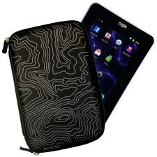 "Θήκη CRYPTO TABLET CASE 7"" HARD ZEBRA ZIP BLACK W003876"