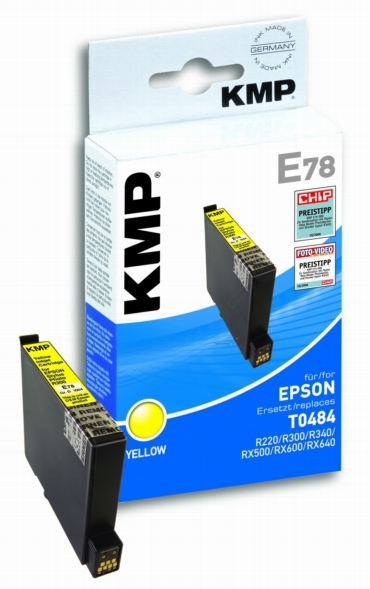 ΣΥΜΒΑΤΟ ΜΕΛΑΝΙ INK EPSON T048440 YELLOW ΚΙΤΡΙΝΟ Ε78 E78 T0484 484 Stylus Photo R200/ R300/ R300M/ RX500/ RX600