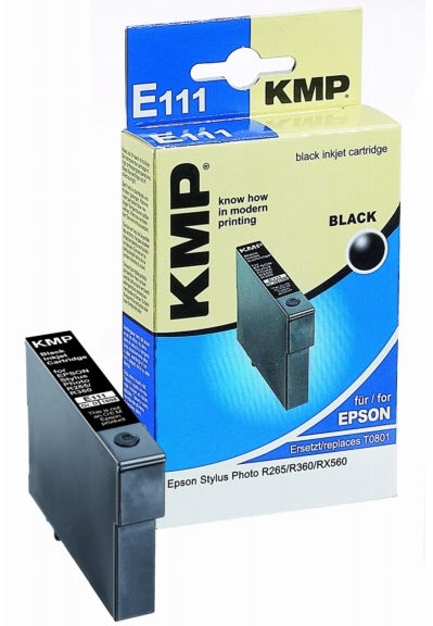 ΣΥΜΒΑΤΟ ΜΕΛΑΝΙ INK EPSON T080140 BLACK ΜΑΥΡΟ Ε111 E111 T0801 801 Stylus Photo R265/R285/R360/RX560/RX585