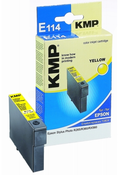 ΣΥΜΒΑΤΟ ΜΕΛΑΝΙ INK EPSON T080440 YELLOW ΚΙΤΡΙΝΟ Ε114 E114 T0804 804 Stylus Photo R265/R285/R360/RX560/RX585