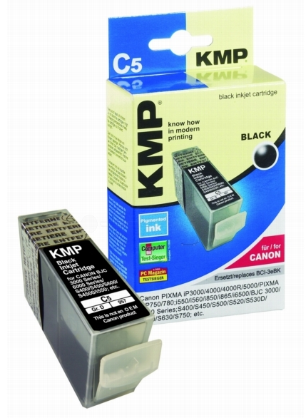 ΣΥΜΒΑΤΟ ΜΕΛΑΝΙ INK CANON BCI-3eBK BLACK ΜΑΥΡΟ C5 BCI 3e BK PIXMA iP3000/ 4000/ 4000R/ 5000/ PIXMA MP750/ 780