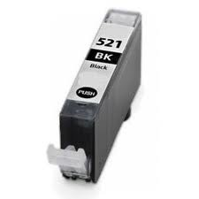 ΣΥΜΒΑΤΟ ΜΕΛΑΝΙ INK Canon CLI-521BK (with chip) BLACK ΜΑΥΡΟ ΓΙΑ Pixma MP540/MP550/560/MP620/MP630/MP640/MP980, Pixma IP3600/IP4600/IP4700 9,4ml