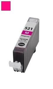 ΣΥΜΒΑΤΟ ΜΕΛΑΝΙ INK Canon CLI-521M (with chip) MAGENTA ΚΟΚΚΙΝΟ ΓΙΑ Pixma MP540/MP550/560/MP620/MP630/MP640/MP980, Pixma IP3600/IP4600/IP4700 9,4ml
