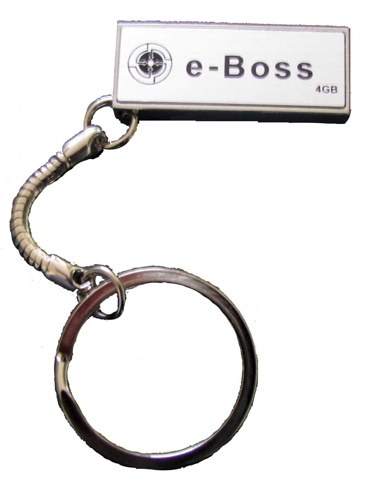 USB 2.0 Flash Disk ΜΙΝΙ Metal 4GB E-Boss