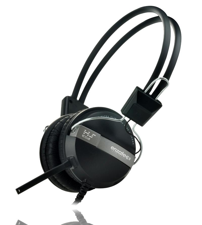 Ακουστικά Headphone Enzatec Hs102re Blue
