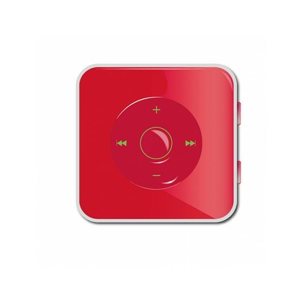 Mp3 Player 4GB APPMP34GBR Ultra Slim Approx Red σε κόκκινο χρώμα 14307