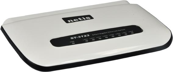 Ενσύρματο NETIS ST-3123 Desktop Switch 8-port Gigabit