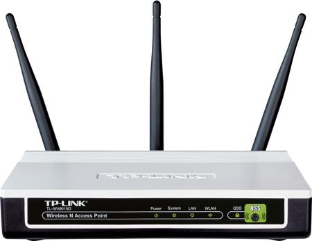 Ασύρματο TP-LINK TL-WA901ND 300Mbps Wireless Acces Point Router, 802.11n, 300Mbps