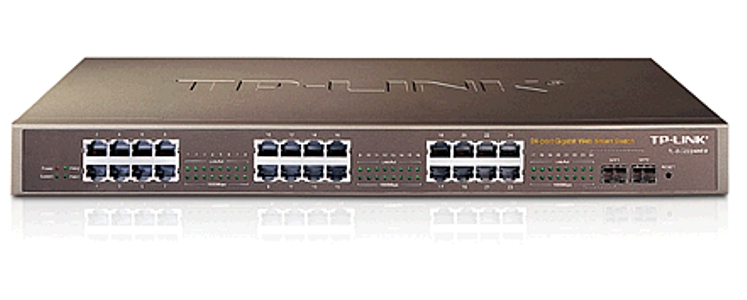 Ενσύρματο TP-LINK TL-SG2224WEB 24port 10/100/1000M GIGABIT SWITCH 62046