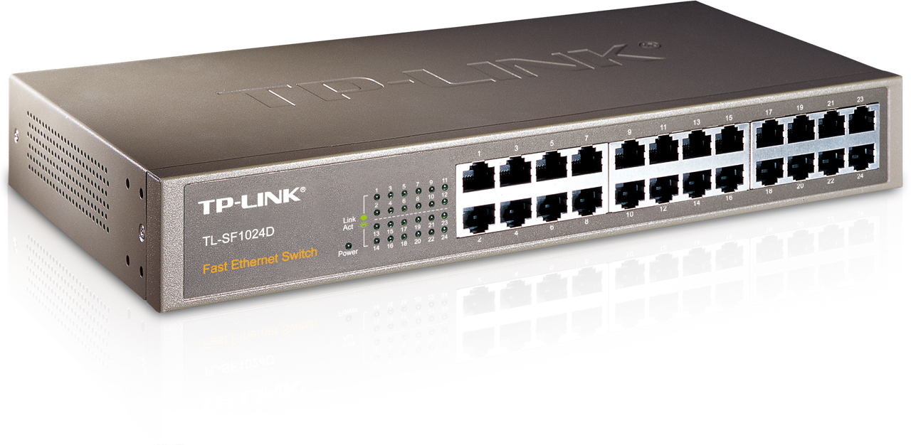 Ενσύρματο TP-LINK TL-SF1024 Rackmount Switch 24-port 10/100M 63031