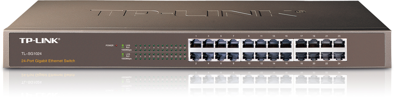 Ενσύρματο TP-LINK TL-SG1024 Rackmount Switch 24-port Gigabit 63035