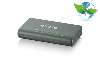 Ενσύρματο AIRLIVE Live-8F Switch 8-Port 10/100Mbps 63036