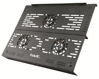 "ΒΑΣΗ ΨΥΞΗΣ ΓΙΑ LAPTOP Cooling Fan HV-Fs02 Travel Pad For Notebook Up To 15"" Havit"