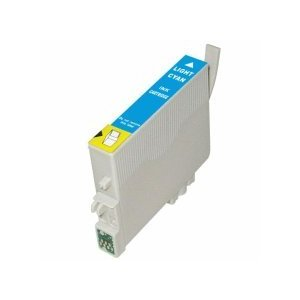 ΣΥΜΒΑΤΟ ΜΕΛΑΝΙ INK Remanufactured Epson T048520 T0485 T 0485 Light Cyan Ανοιχτό Γαλάζιο inkjet Cartridge Stylus R300 13ml