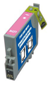 ΣΥΜΒΑΤΟ ΜΕΛΑΝΙ INK Remanufactured Epson T048620 T0486 T 0486 Light Magenta Ανοιχτό Κόκκινο inkjet Cartridge Stylus R300 13ml