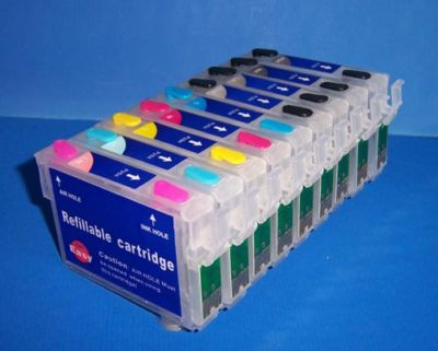 ΣΥΜΒΑΤΟ ΜΕΛΑΝΙ INK Remanufactured Epson T0961 T 0961 961 PHOTO BLACK Φωτογραφικό Μαύρο for R2880 Ink Cartridge 11.4ml