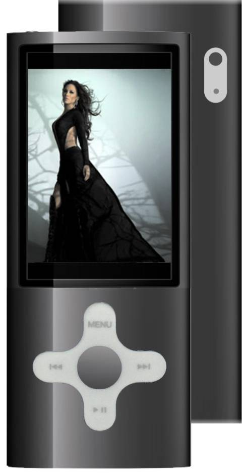 MP4 PLAYER F&U MP2028BL 8GB