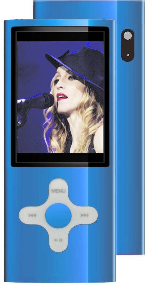 MP4 PLAYER F&U MP2048BL 8GB