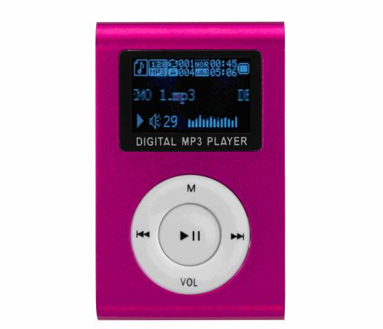 MP3 PLAYER F&U MP473PK 2GB