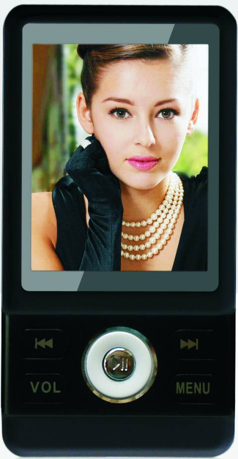 MP4 PLAYER F&U MP9545BK 2GB