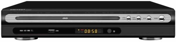 DVD PLAYER MINI UNITED ME USB-8097