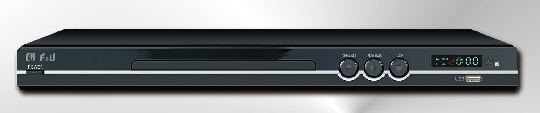 DVD PLAYER 5.1 ΜΕ USB F&U DVD3696