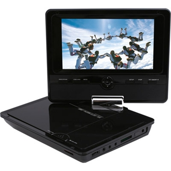 "DVD PLAYER ΦΟΡΗΤΟ 7"" F&U DVT7860MP4"