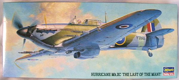 Hasegawa 1/72 Hurricane Mk.IIC 'The Last of Many' - No. 3 Sq RAF 1941 Last Hurricane Produced, AP39 1:72