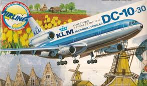 Hasegawa KLM Dutch Airlines DC-10-30 1:200 Model Kit LC006 700 1/200 plastic model kit