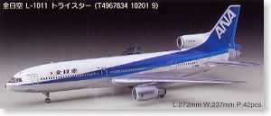 All Nippon Airways L-1011 Tristar (Plastic model) LL 1 - 10201 model kit 1:200 1/200 aircraft