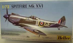 HELLER 80282, 1/72-SPITFIRE MK.XVI 1:72 plastic model kit aircraft airplane