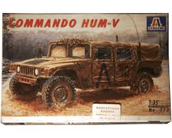 Italeri #273 Commando Hum-V Hummer 1:35 Scale Model Kit 1/35