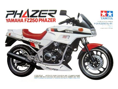Tamiya 14047 Yamaha FZ 250 Phazer 1:12 1/12 model kit motorcycle