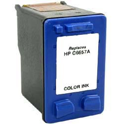 ΣΥΜΒΑΤΟ ΜΕΛΑΝΙ INK HP57 HP 57 HPC6657AN HP C6657AN C 6657 AN Tri-Color Έγχρωμο for Deskjet 450ci/450cbi/450wbt 17ml