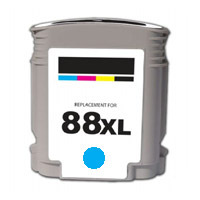 ΣΥΜΒΑΤΟ ΜΕΛΑΝΙ INK HP88XL HP 88XL 88 XL 9391 9386 Cyan Γαλάζιο for HP OfficeJet K550 Series K550XL 32ml